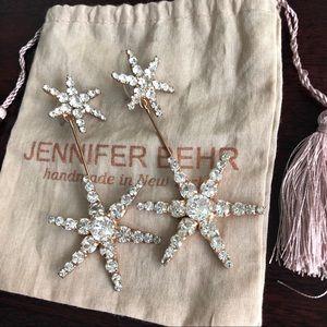 Jennifer Behr Estee Earrings in Rose Gold